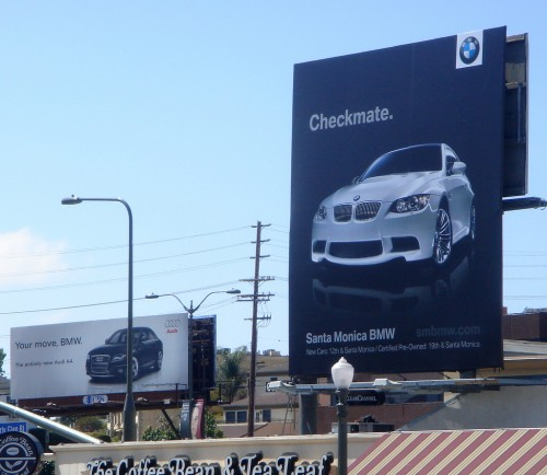 BMW Checkmates Audi